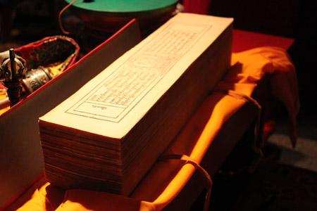 Buddhist prayer-book