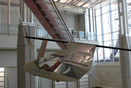pedal-powered plane