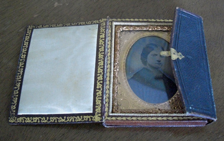 C.H. Williamson daguerreotype in case