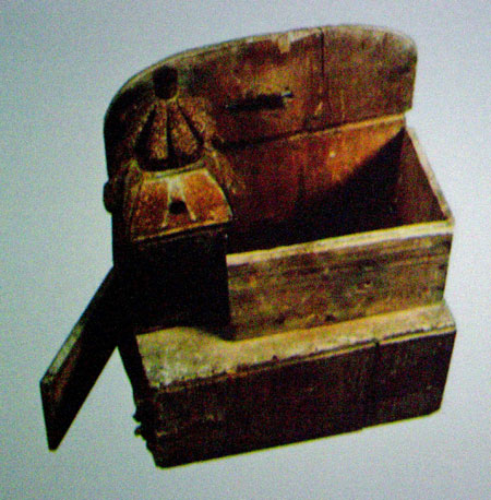 magic lantern used by itinerant lantern showmen