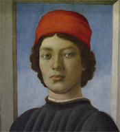 Filippino Lippi, Portrait of a Youth