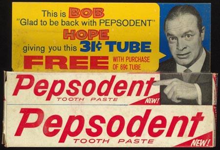 Bob Hope advertising Pepsodent
