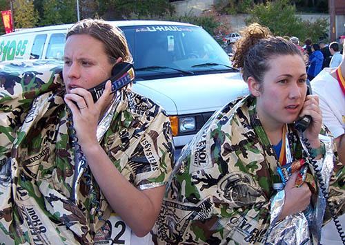 runners calling