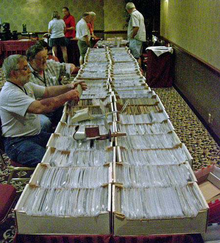magic lantern slides for sale at the Magic Lantern Convention