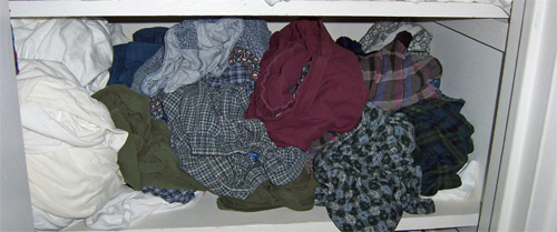 underwear closet