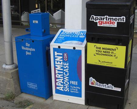 distribution of yellowbook through on-street box