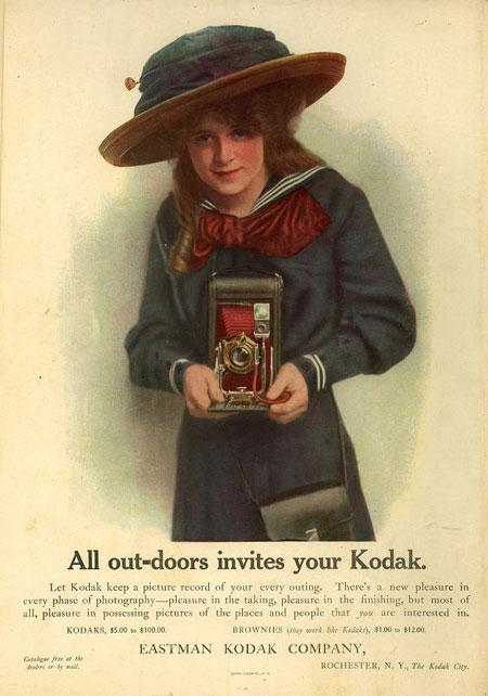 All-outdoor invites your Kodak.
