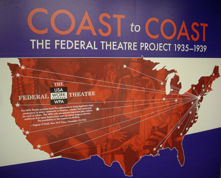 Federal Theatre Project covers the U.S from coast to coast