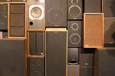 massive array of speakers