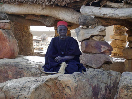 A Dogon leader has different interests in Dogon paternity certainty than do low-status Dogon men