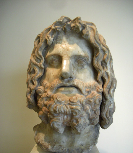 Roman-era head of Greek god Serapis