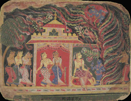 early sixteenth-century Indian painting