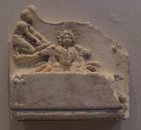 Sol Invictus, an idol of the late Roman Empire