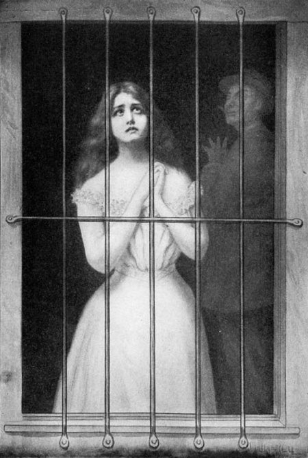 imprisoned white slave girl, impetus for passage of the Mann Act