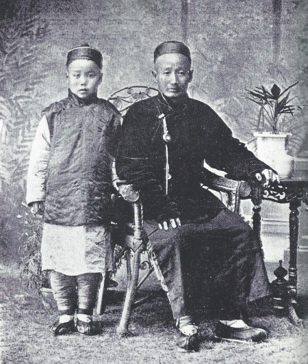 two Jews from Kaifeng, China, c. 1902