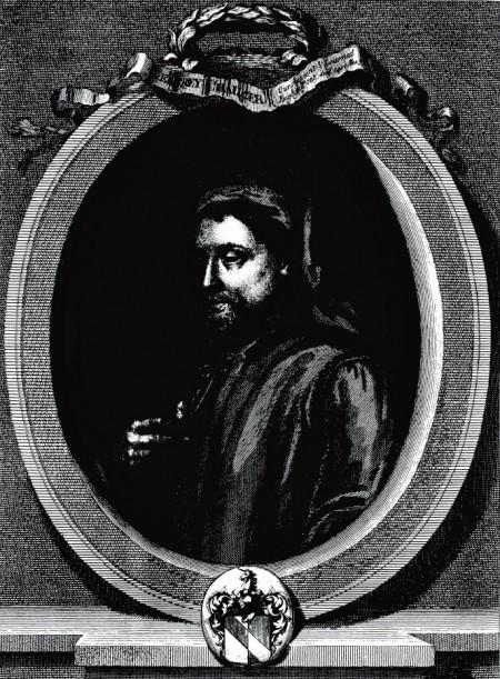 godlike portrait of Chaucer