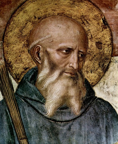 Saint Benedict, by Fra. Angelico