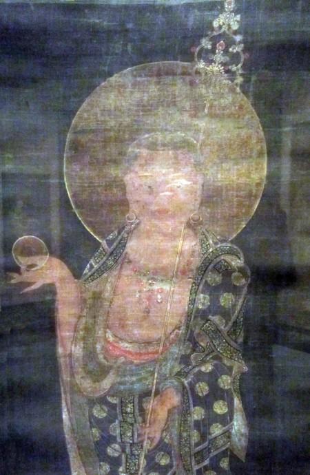 Bodhisattva Kshitigarbha (Jijang bosal)