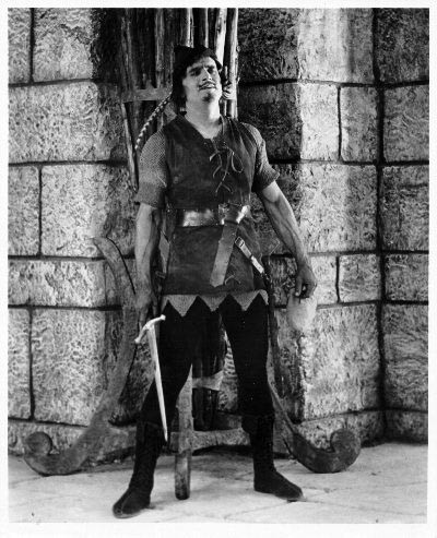 Robin Hood, superhero