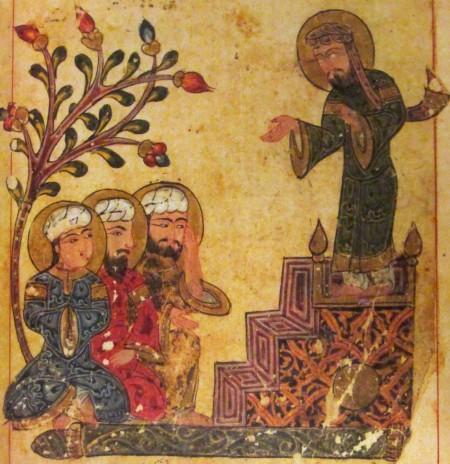 proclaiming the biography of Persian royal physician Borzuya