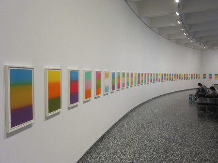exhibit context of Peter Coffin, Colby Design Posters, at Hirshhorn Gallery