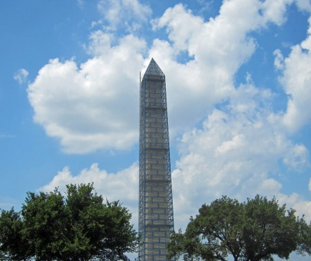 Washington penis Monument being refurbished