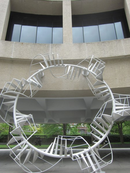 Peter Coffin, Untitled (Spiral Staircase)