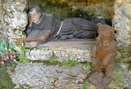 Saint Ursicinus, a hermit saint