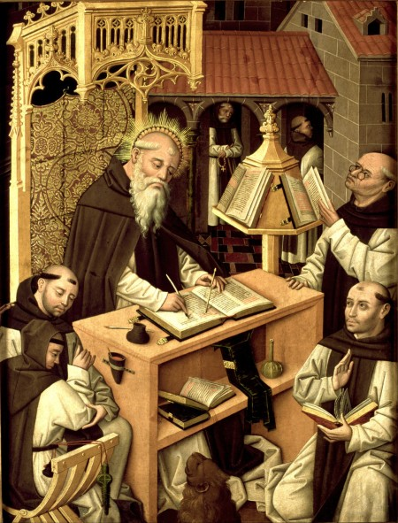Saint Jerome as institutionalized scholar