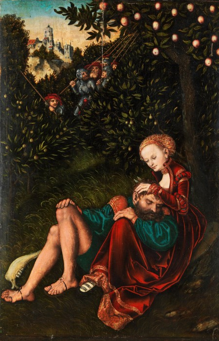 Samson and Delilah, foremother of Lidia