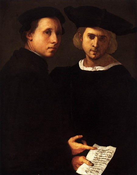 Portrait of Two Friends, e.g. Tito and Gisippo