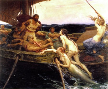 Ulysses and the Sirens, a allusion in Valerii ad Rufinus