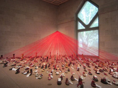 Perspectives: Chiharu Shiota at Sackler Gallery