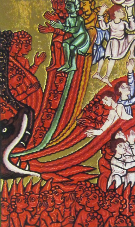 devil as tempter in Hildegard