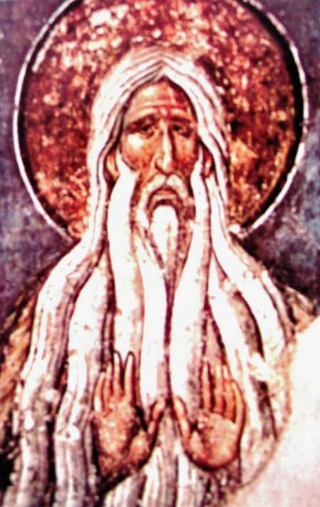 Saint Macarius of Egypt, spiritbearer