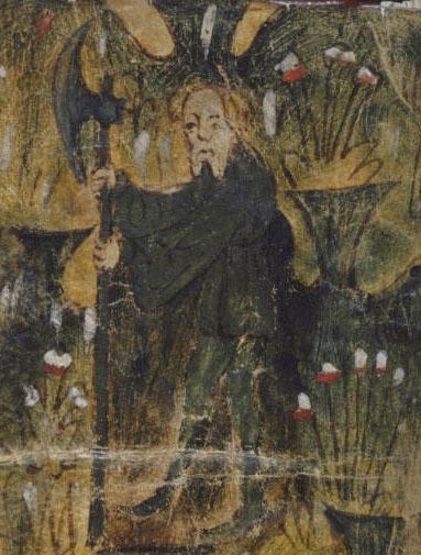 Green Knight who tested Gawain