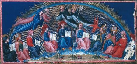 Dante sees Boethius in Paradiso X