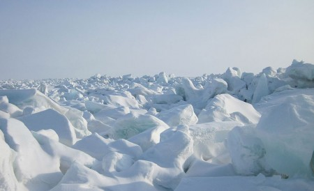 frozen Artic: Laptev Sea