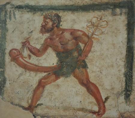 Priapus as Mercury, racing to provide money