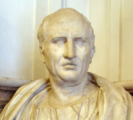 Bust of Cicero, orator