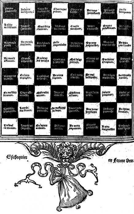 Gratien Dupont's chessboard protest