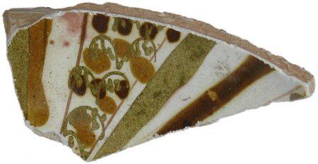 pottery shard, probably from Abbasid Basra