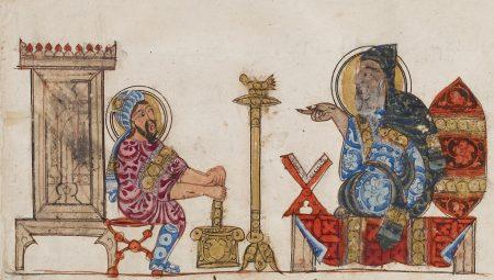 two Arabic physicians (Abbasid period)