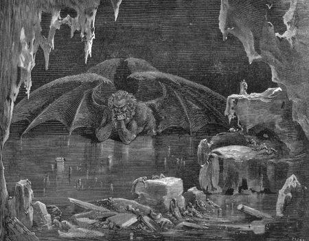 Satan-Lucifer in Dante's Inferno
