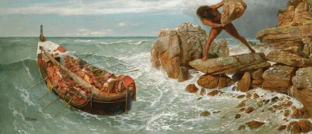 ODysseus struggling in nostos