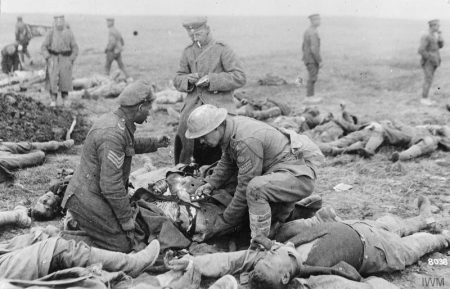 dead men soldiers in World War I