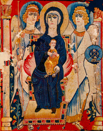 Mother of God as Empress