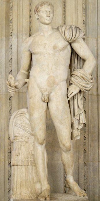 Tusculum Octavian: heroic nude
