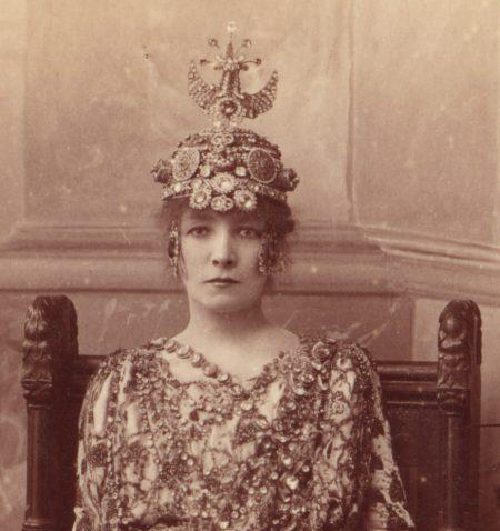 Sarah Bernhardt as Empress Theodora