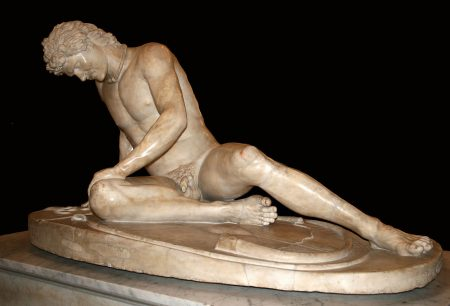 a barbarian: the dying Gaul